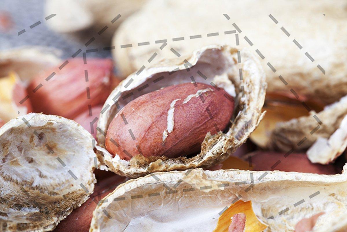 Peeled peanuts example image 1