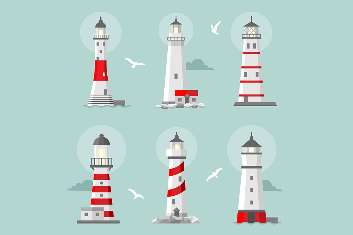 Lighthouse set example image 1