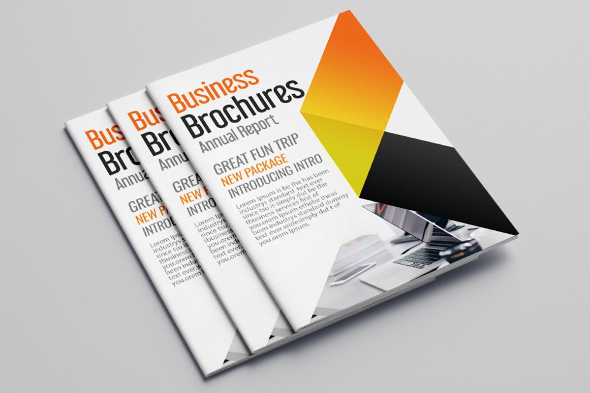 Business Portfolio Bifold Brochure 16 Pages example image 1