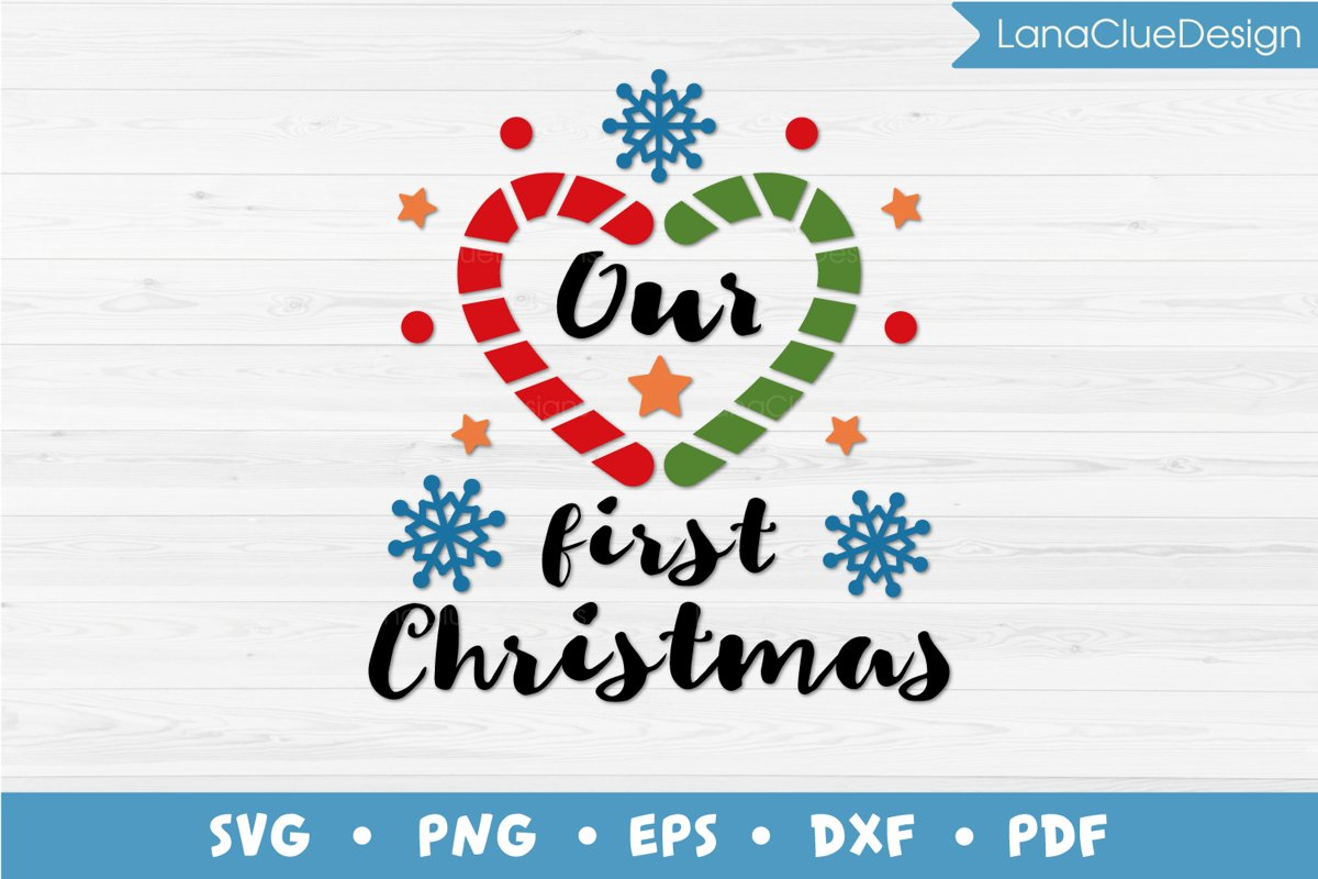 Our 1st Christmas SVG example image 1