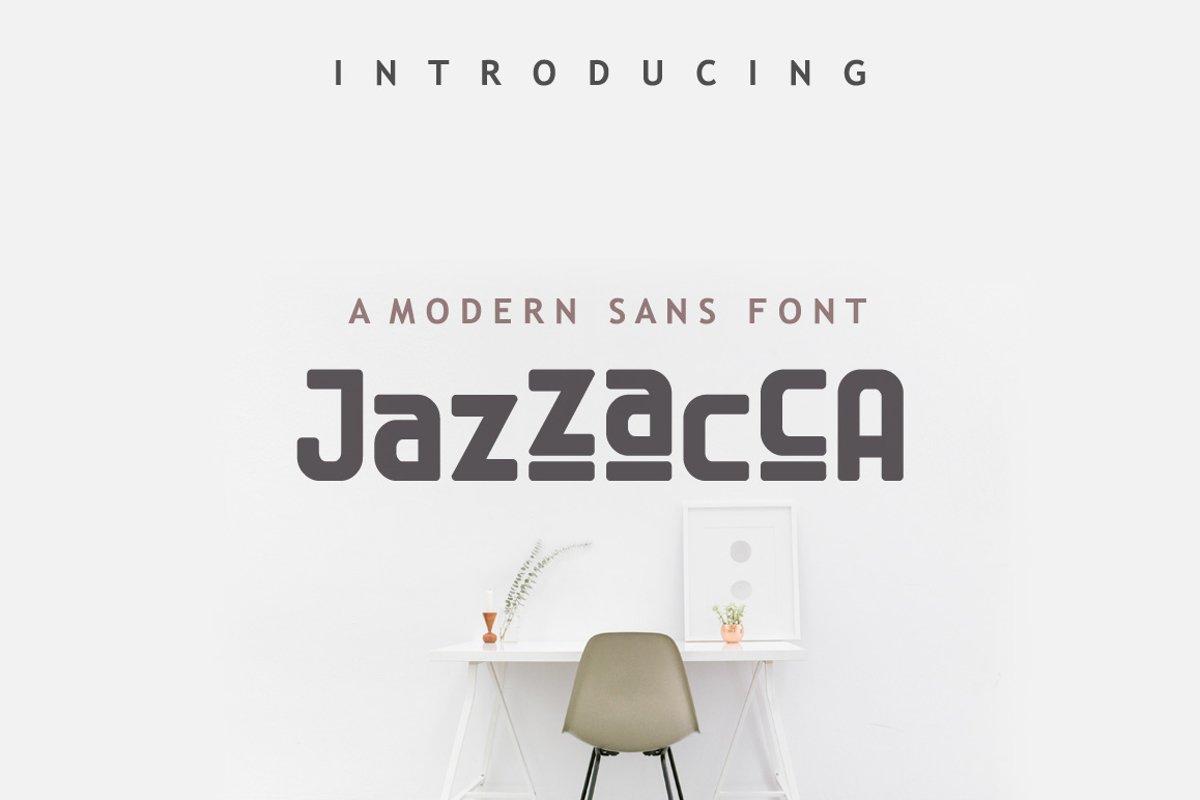 Jazzaca Font example image 1