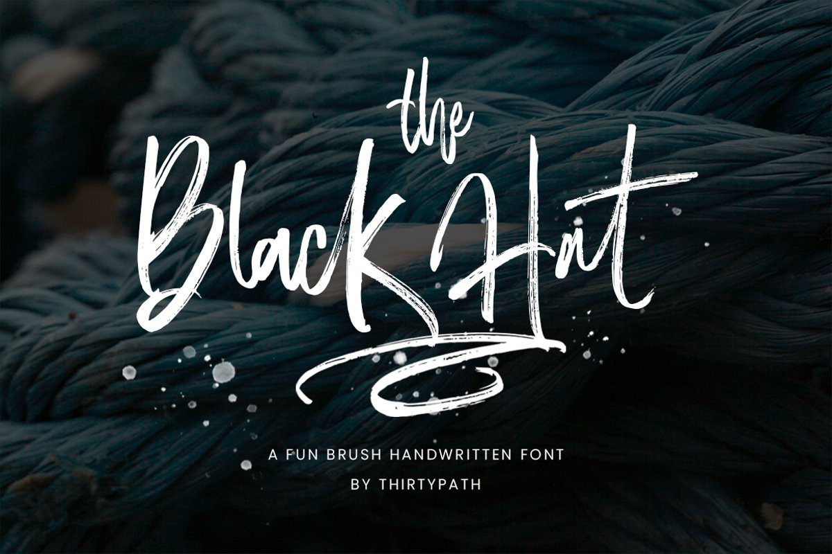 The Black Hat Script example image 1