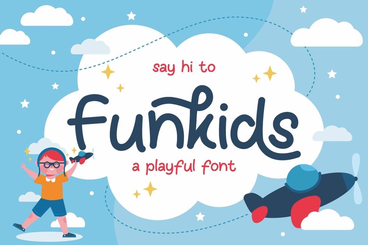 Fun Kids - Playful Font example image 1