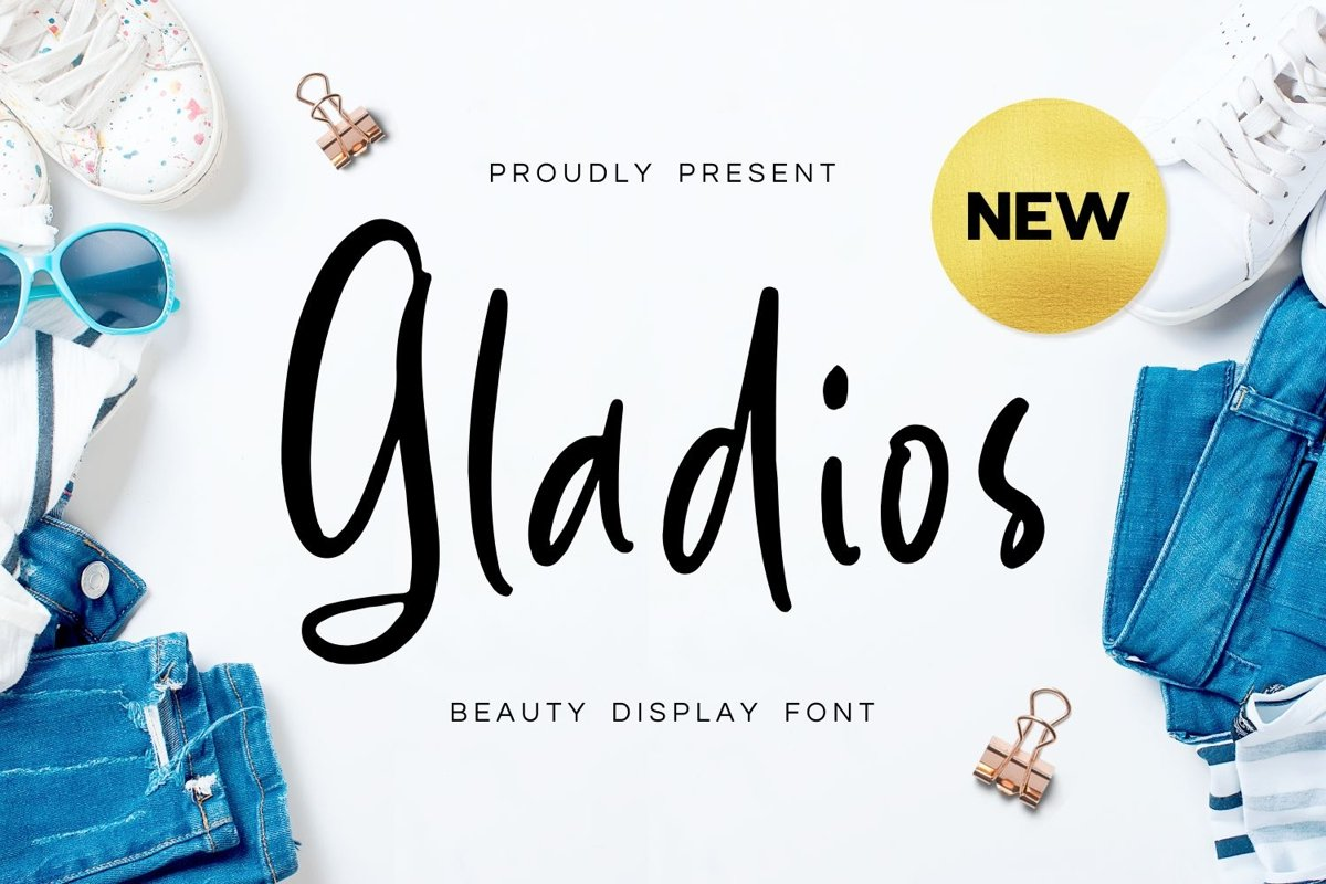 Gladios - Beauty Display Font example image 1