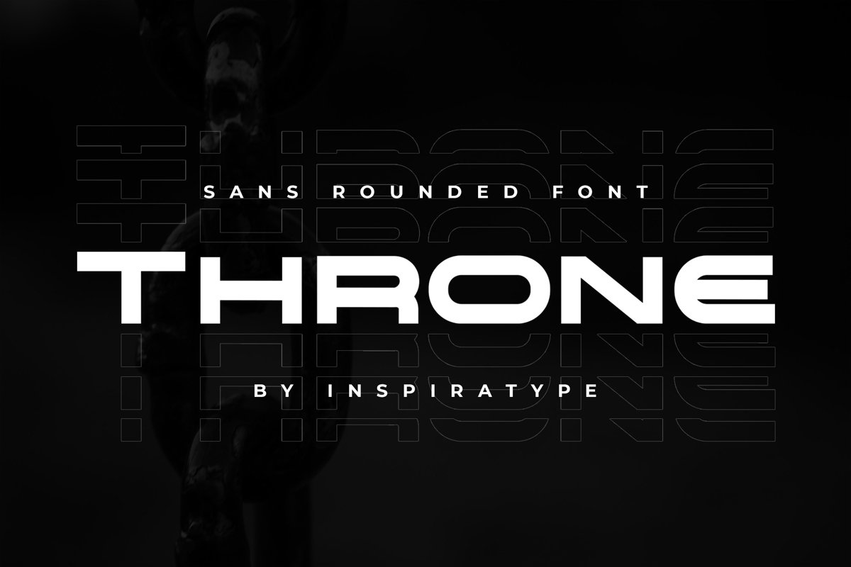 Throne - Rounded Sans Font example image 1