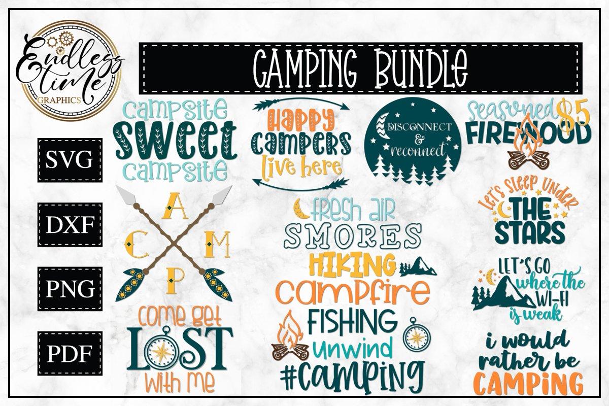 Camping Bundle - An Adventurous Little Bundle example image 1