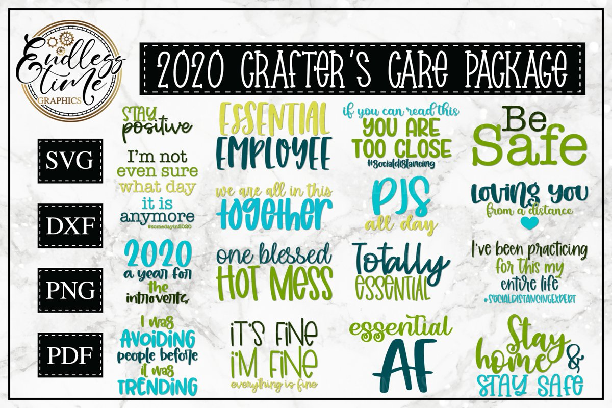 2020 Crafter's Care Package - An SVG Bundle for Crafters example image 1
