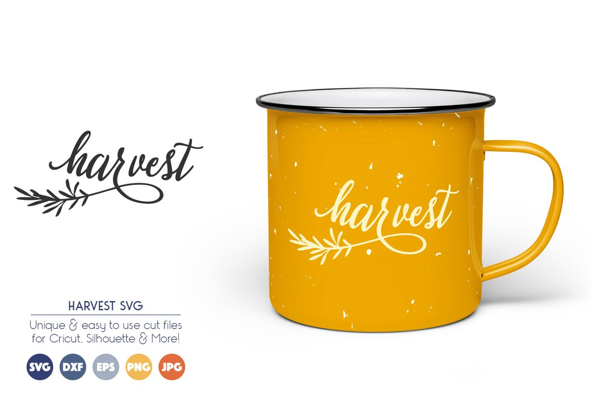 Harvest - Fall, Autumn SVG Cut Files example image 1