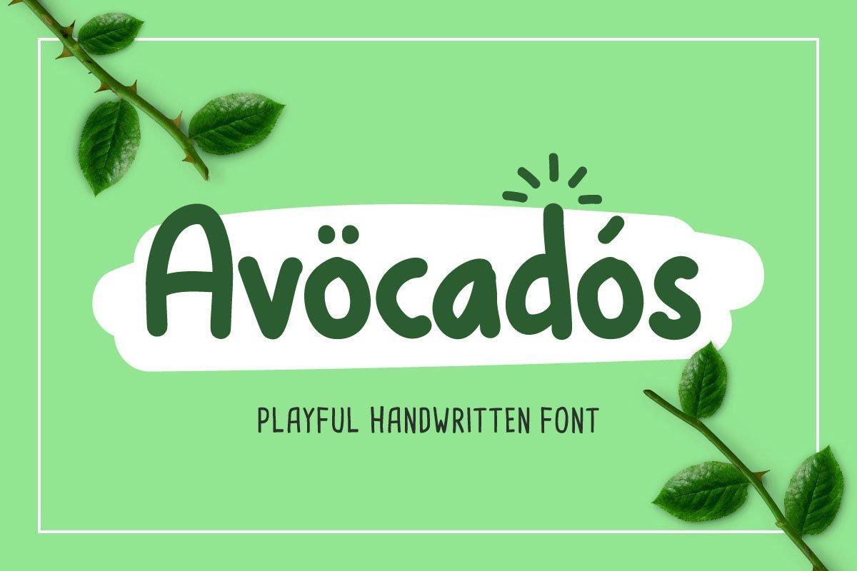 Avocados example image 1