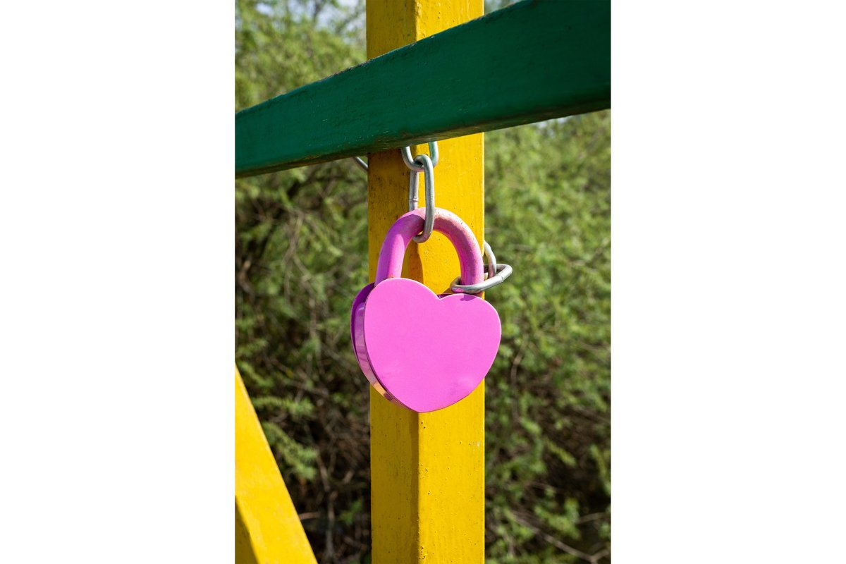 design element. love lock image example image 1