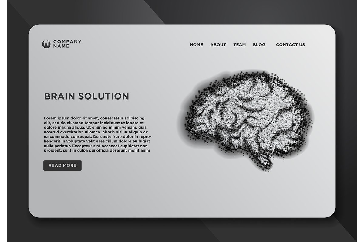 Web page design templates collection of Abstract vector imag example image 1
