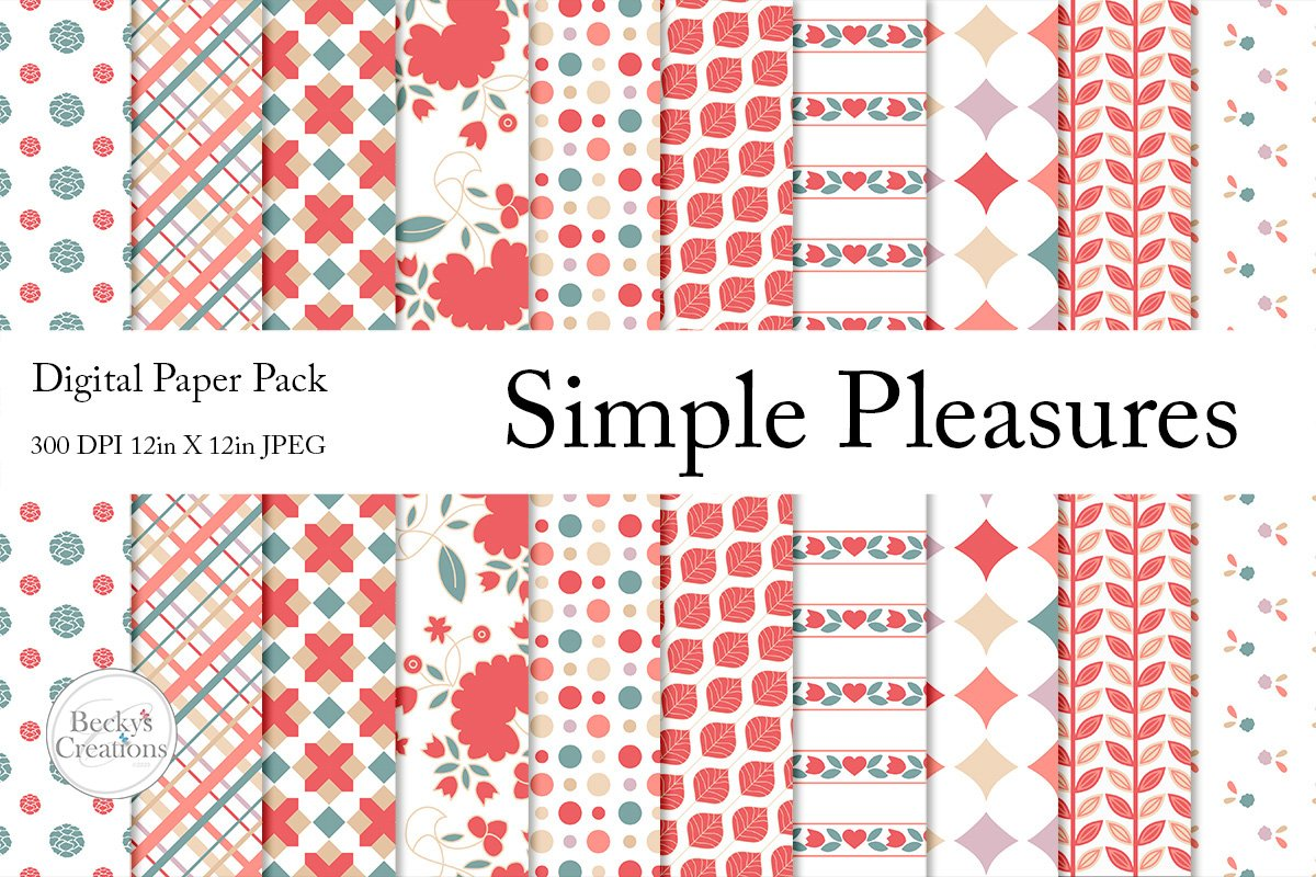 Simple Pleasures Paper Pack example image 1