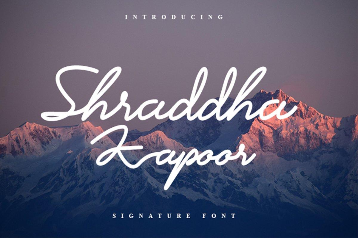 Shraddha Kapoor example image 1