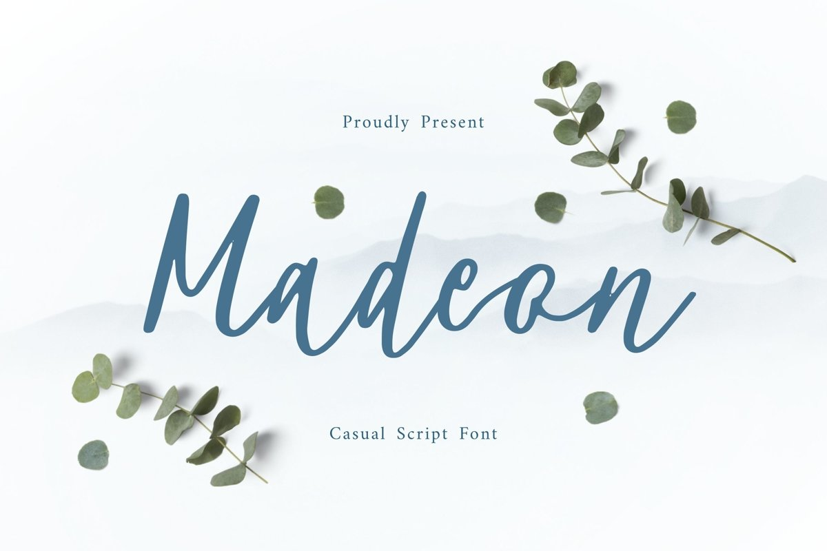 Madeon Script Font example image 1