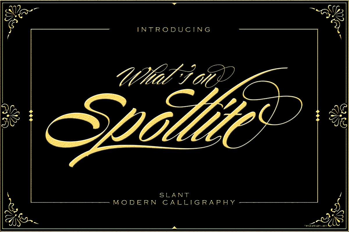 Spotlite Slant example image 1