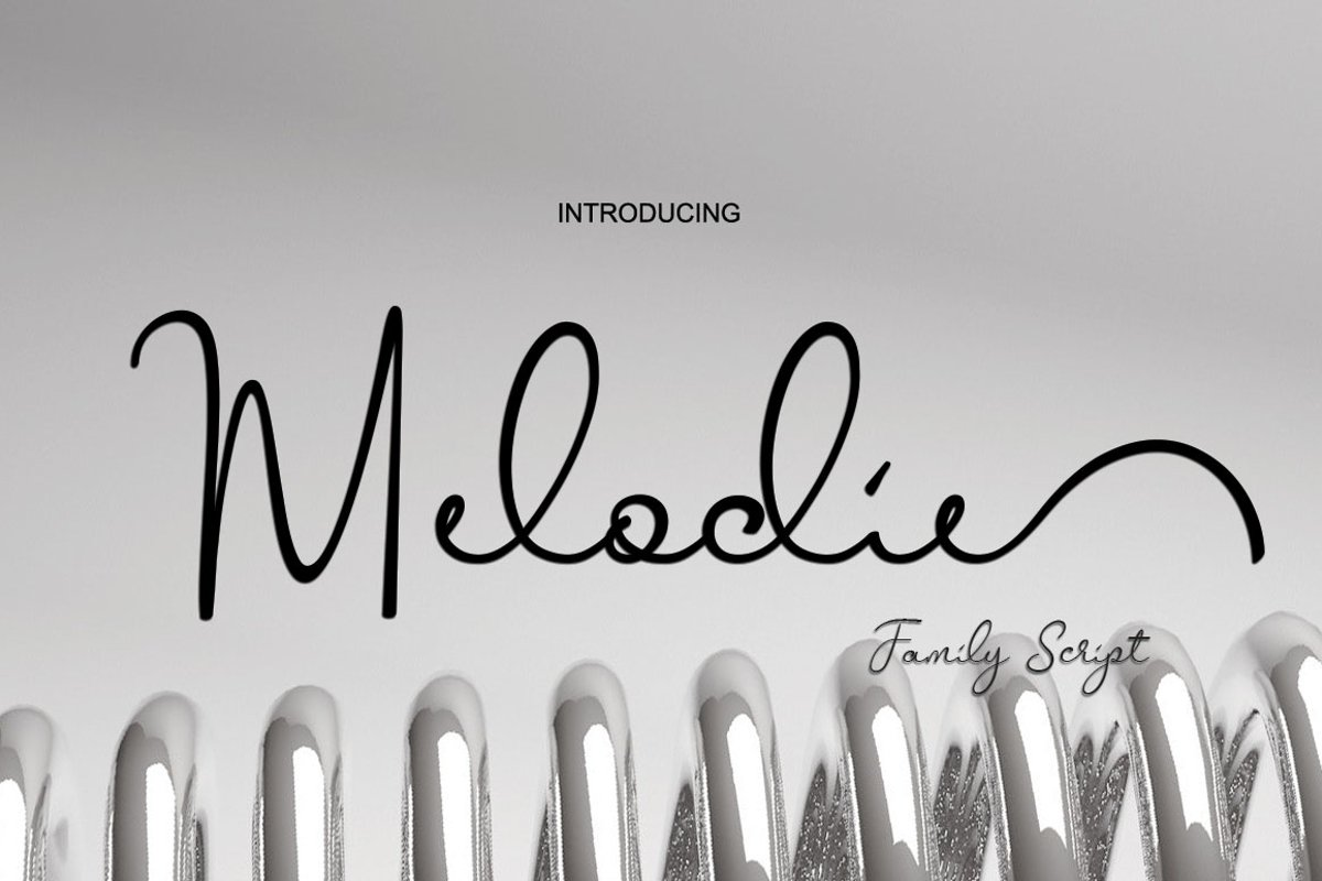 Melodie Script example image 1