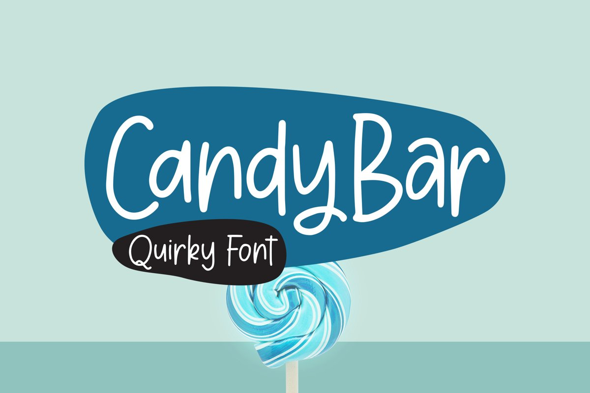 CandyBar - Quirky Font example image 1