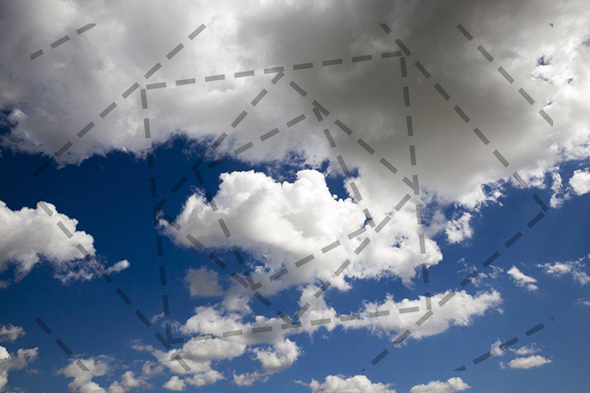 gray white sky example image 1