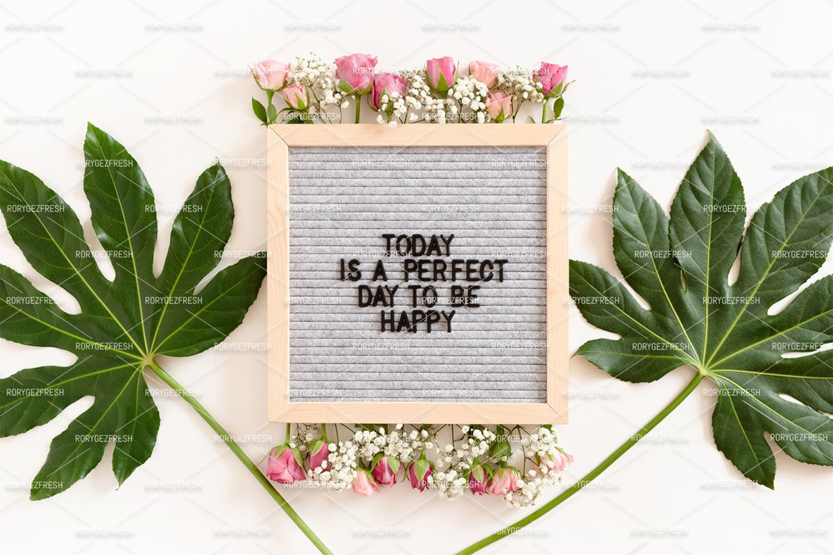 Today is a perfect day to be happy example image 1