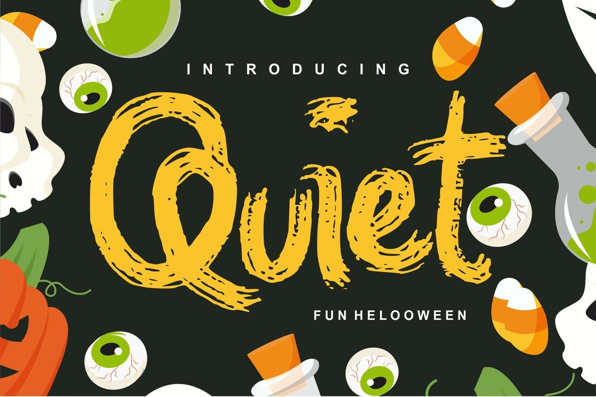 Quiet | Magical Helloween Font example image 1