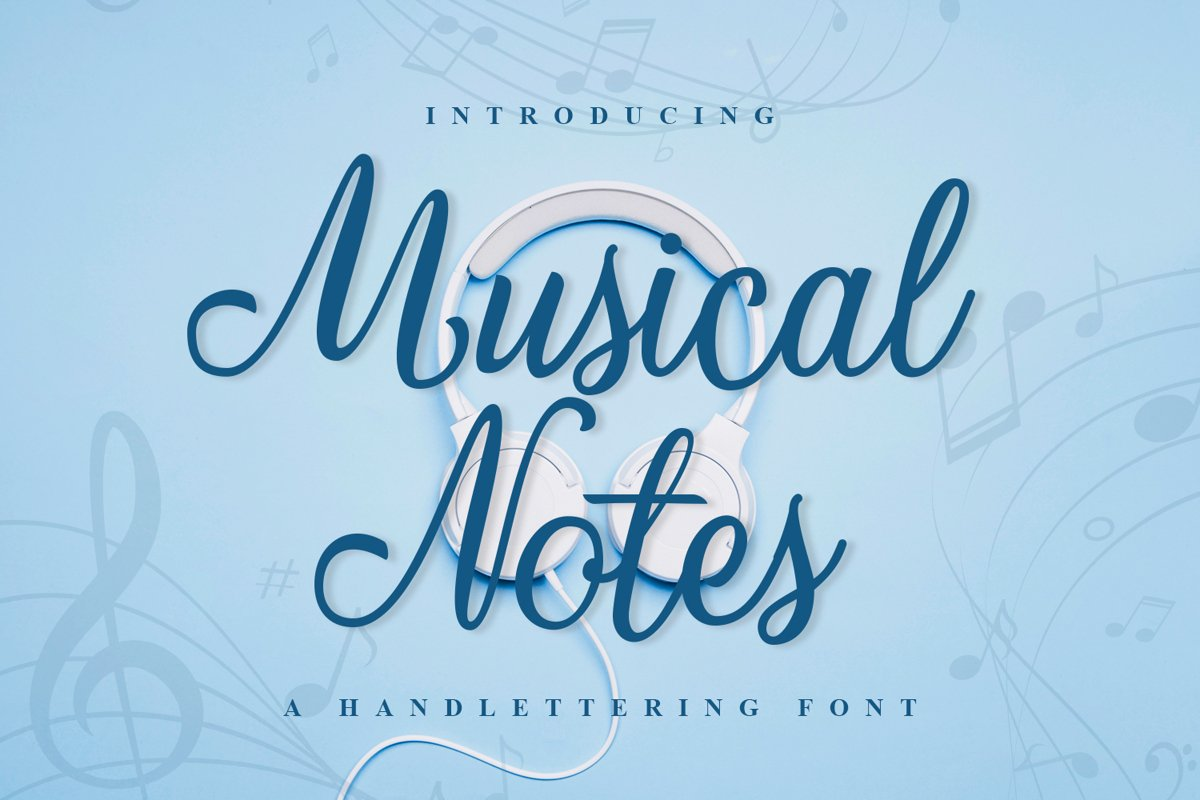 Musical Notes example image 1