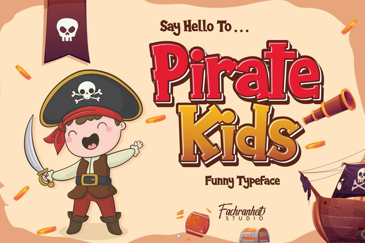 Pirate Kids example image 1