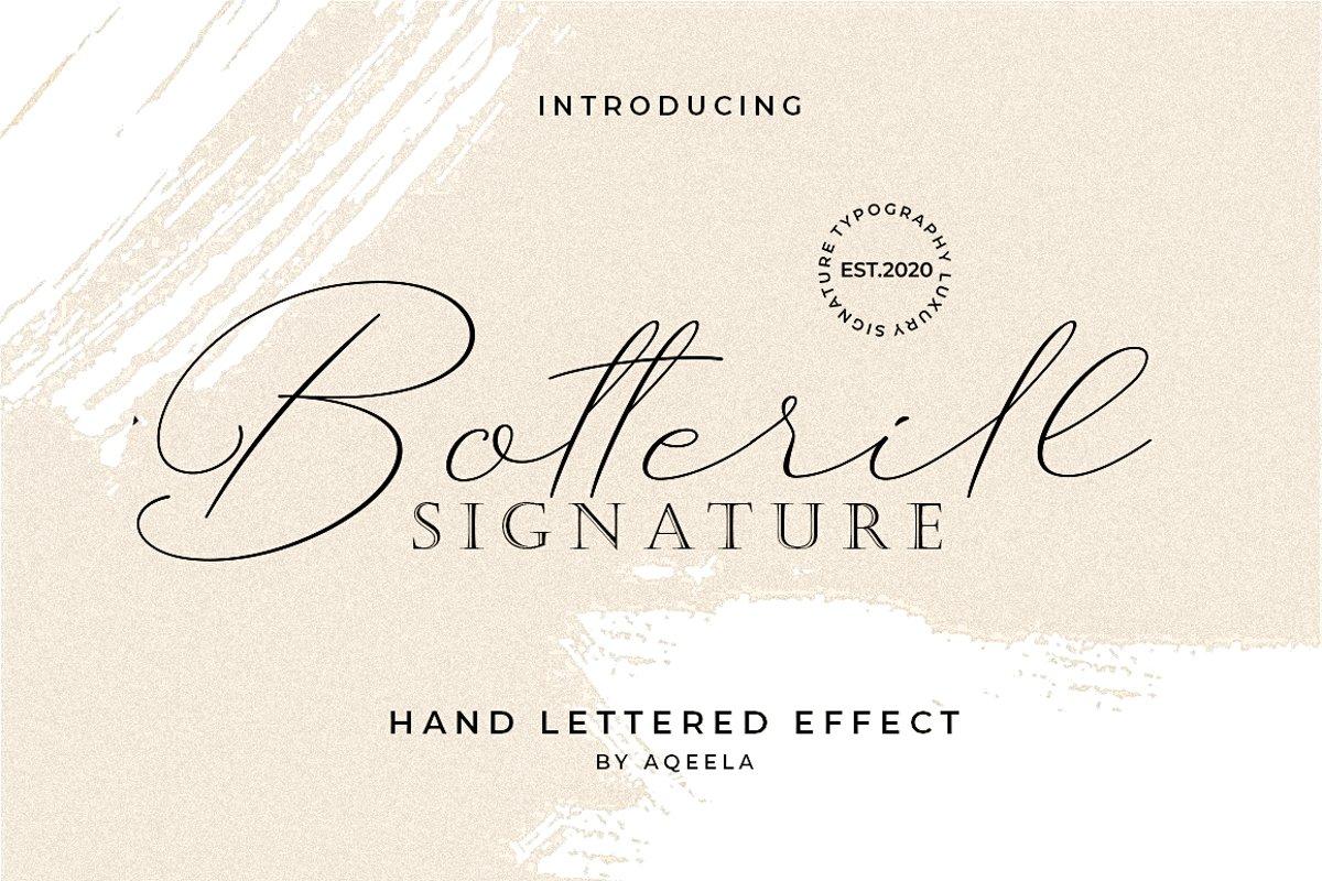 Botterill Signature example image 1