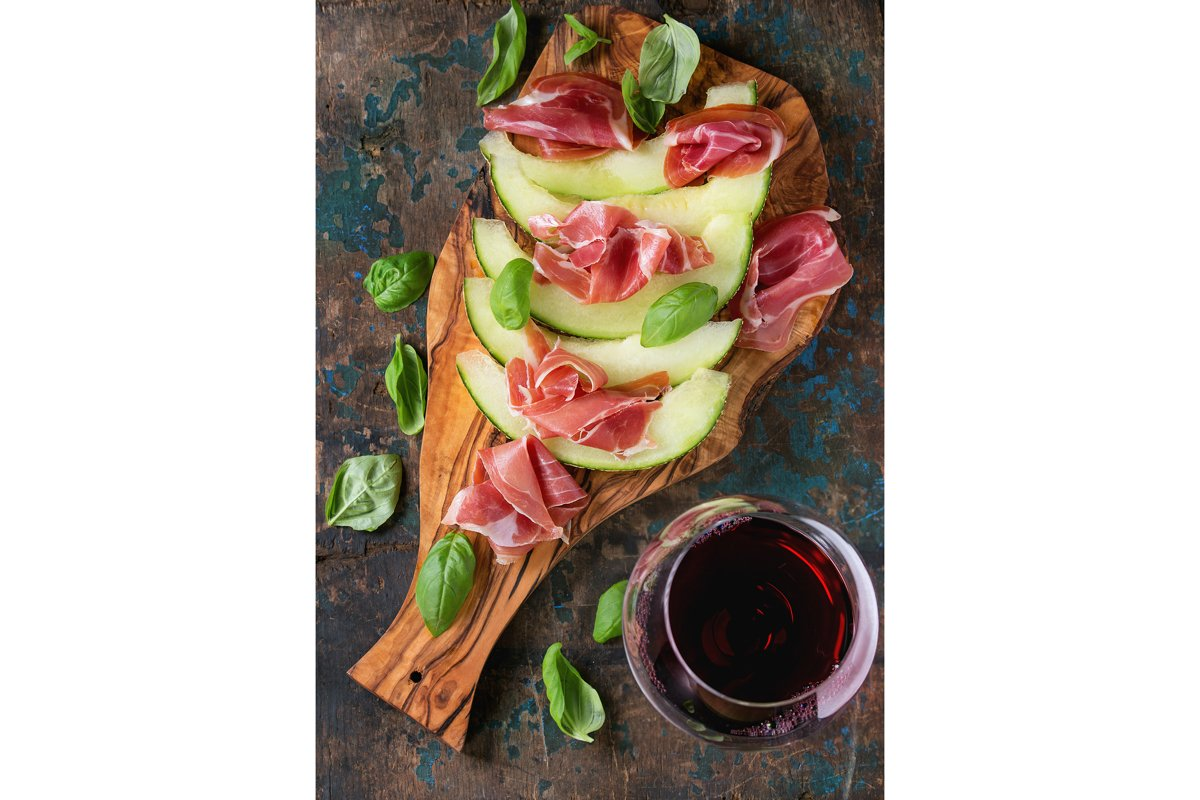 Melon and ham example image 1