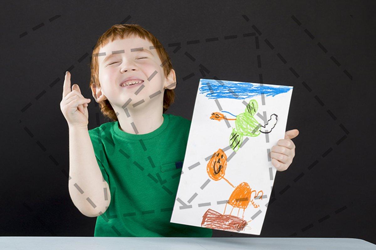 joyful smiling child example image 1