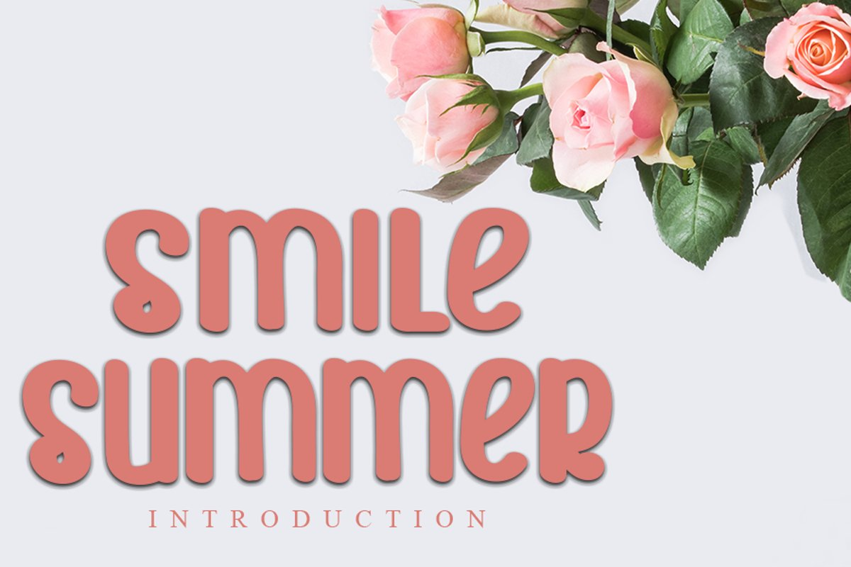 Smile Summer | Beauty Font example image 1