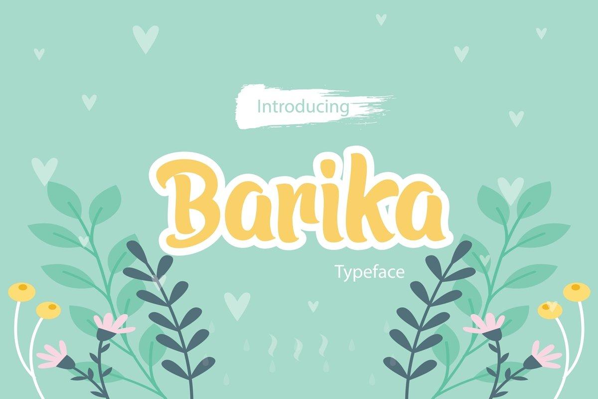 Barika Font example image 1
