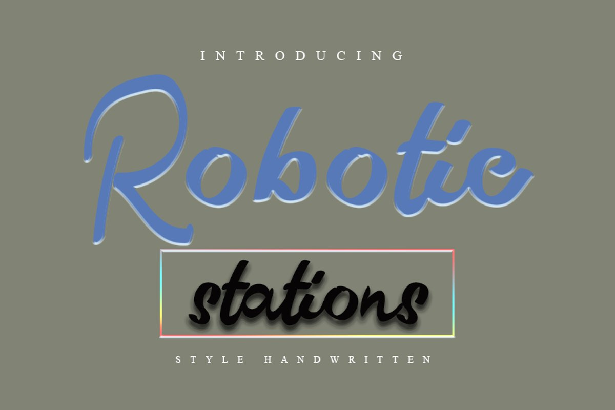 Robotic Station example image 1