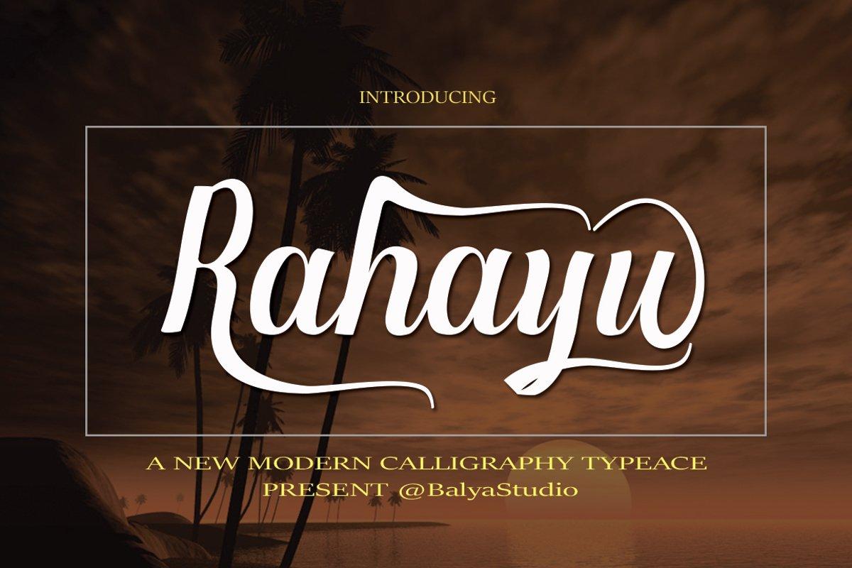 Rahayu example image 1