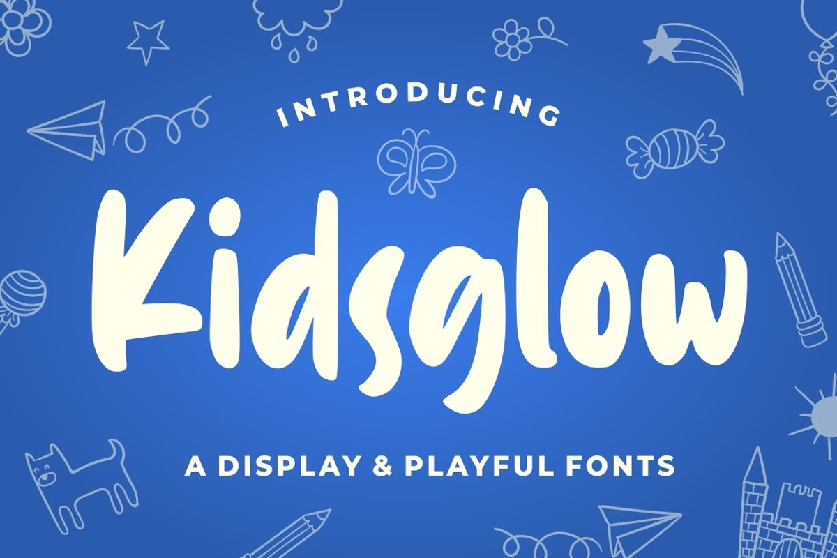Kidsglow - Fun Fonts example image 1