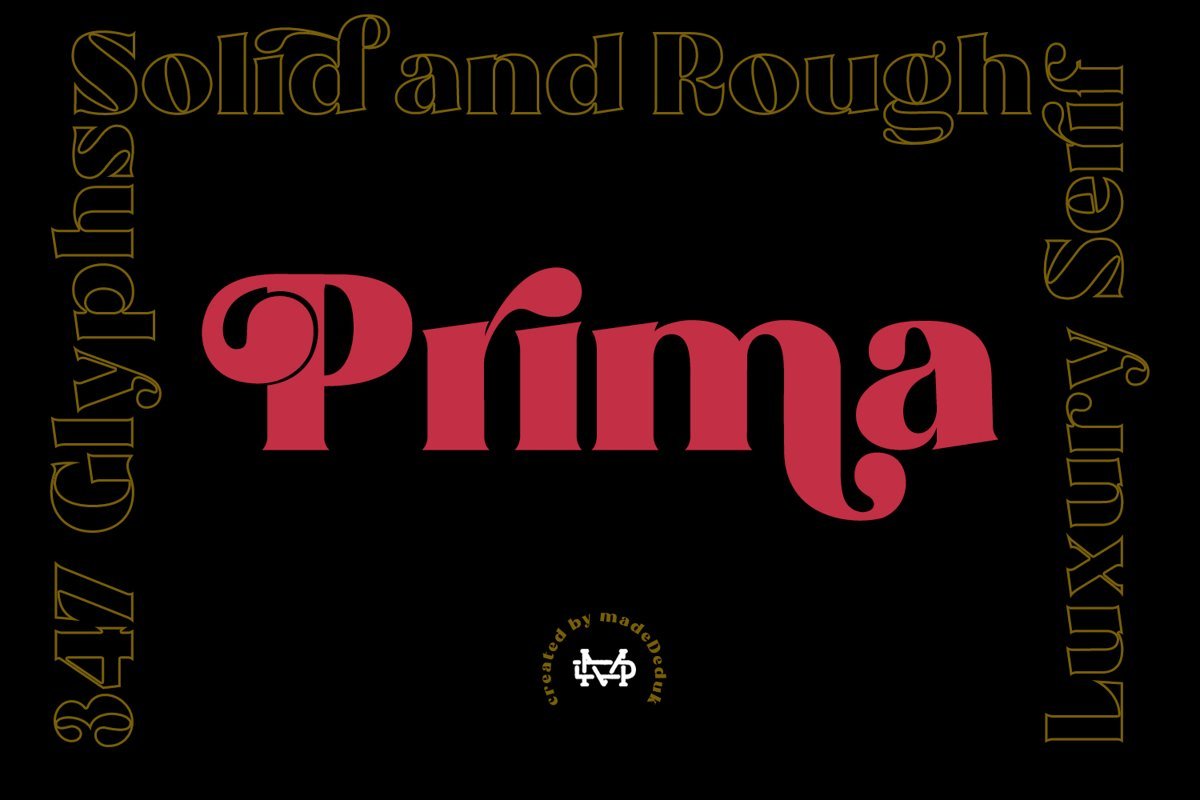 Prima - Luxury Typeface example image 1