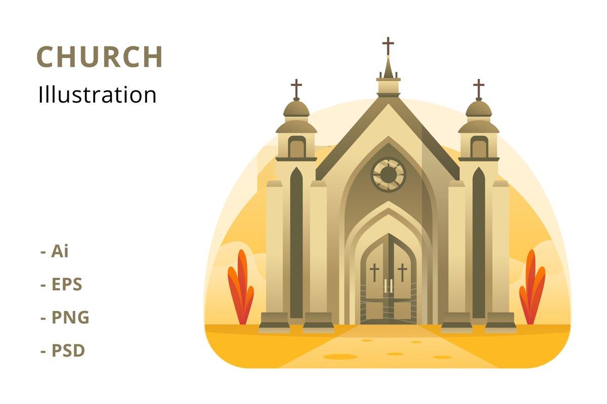 Church Illustration example image 1