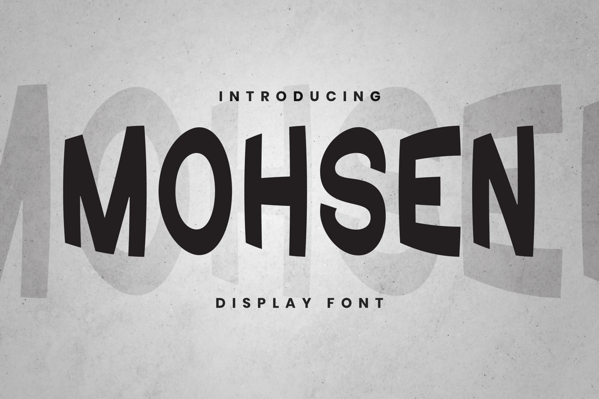 Mohsen Font example image 1