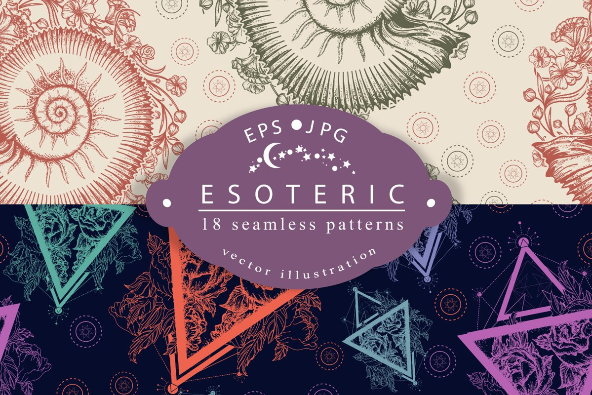 Esoteric patterns example image 1