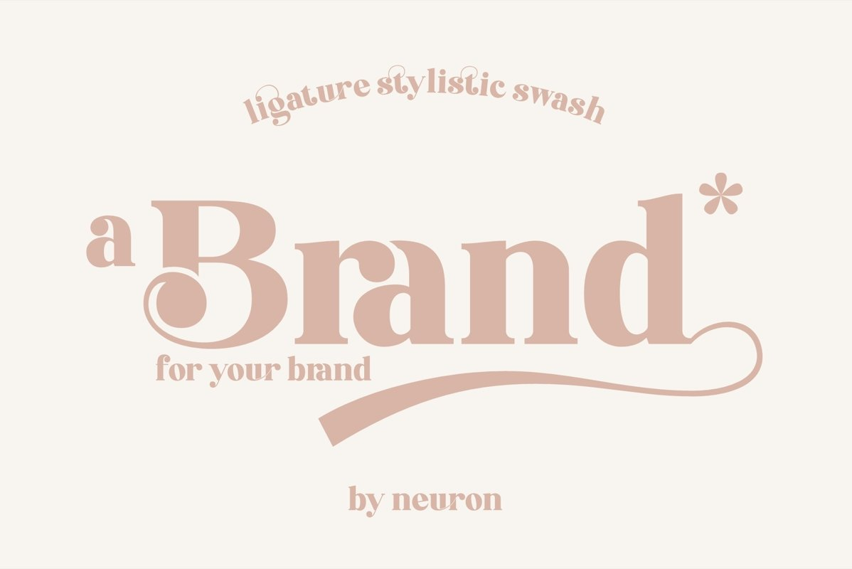 Brand Display Font example image 1