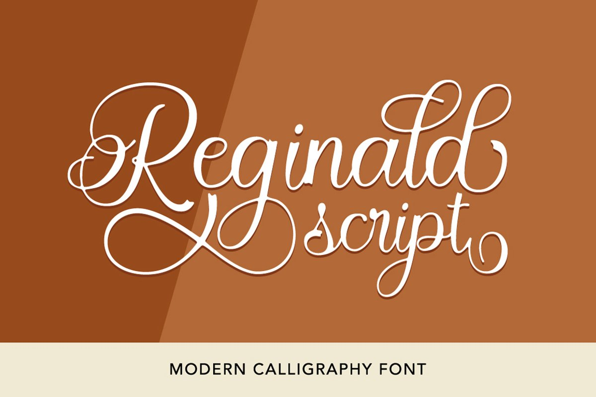 Reginald Script example image 1