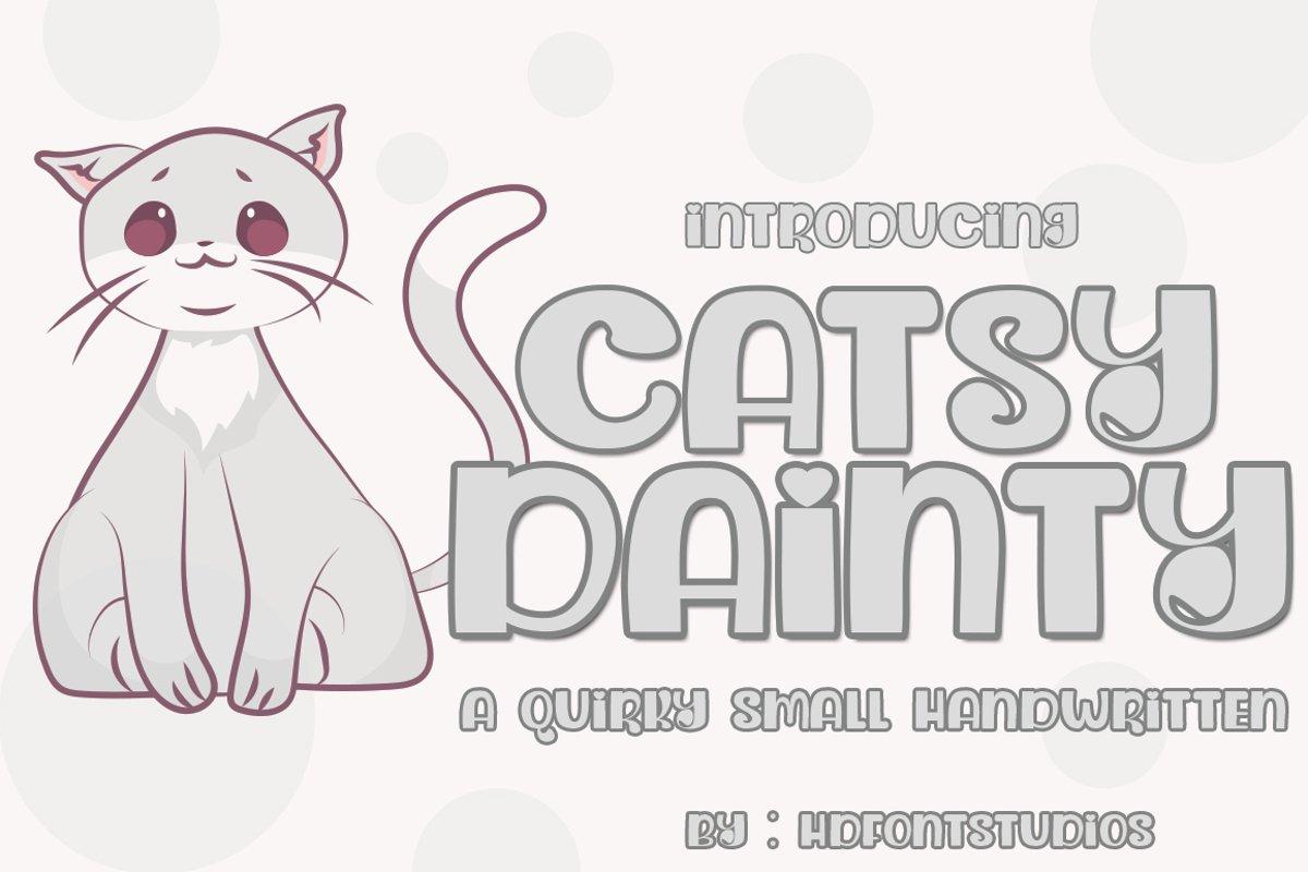 Dainty Catsy example image 1