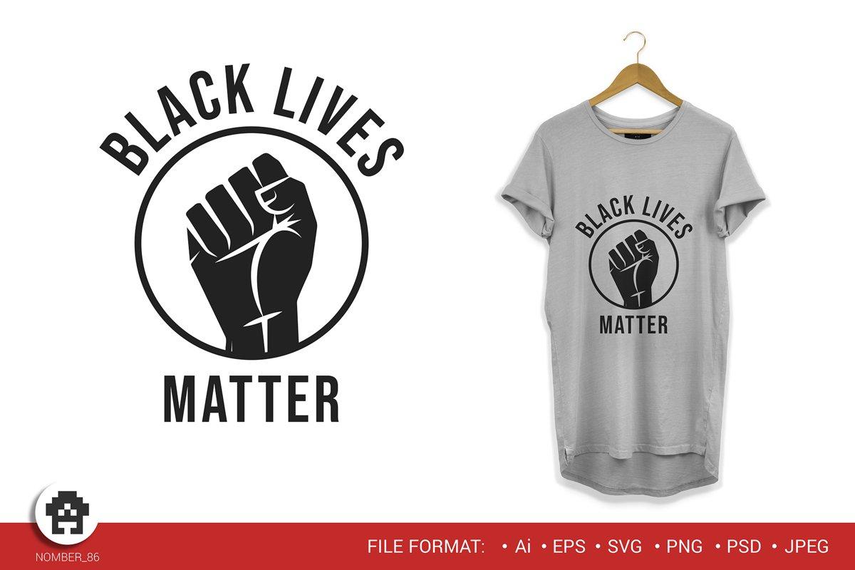 Black lives matter / Black lives matter svg. example image 1