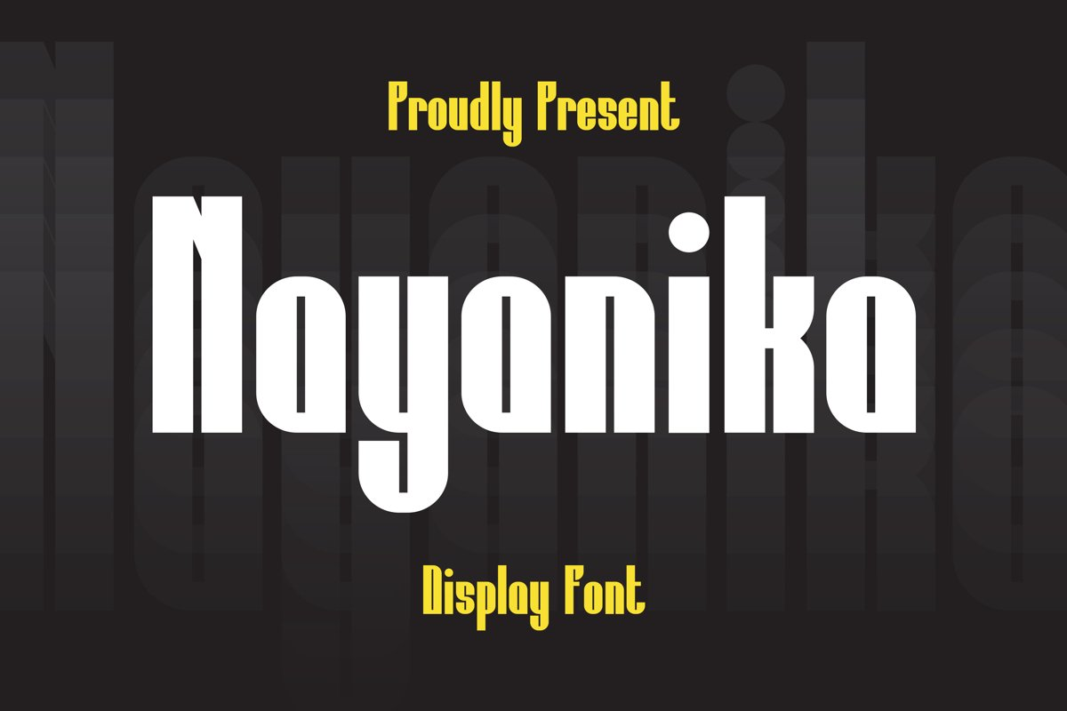 Nayanika Font example image 1