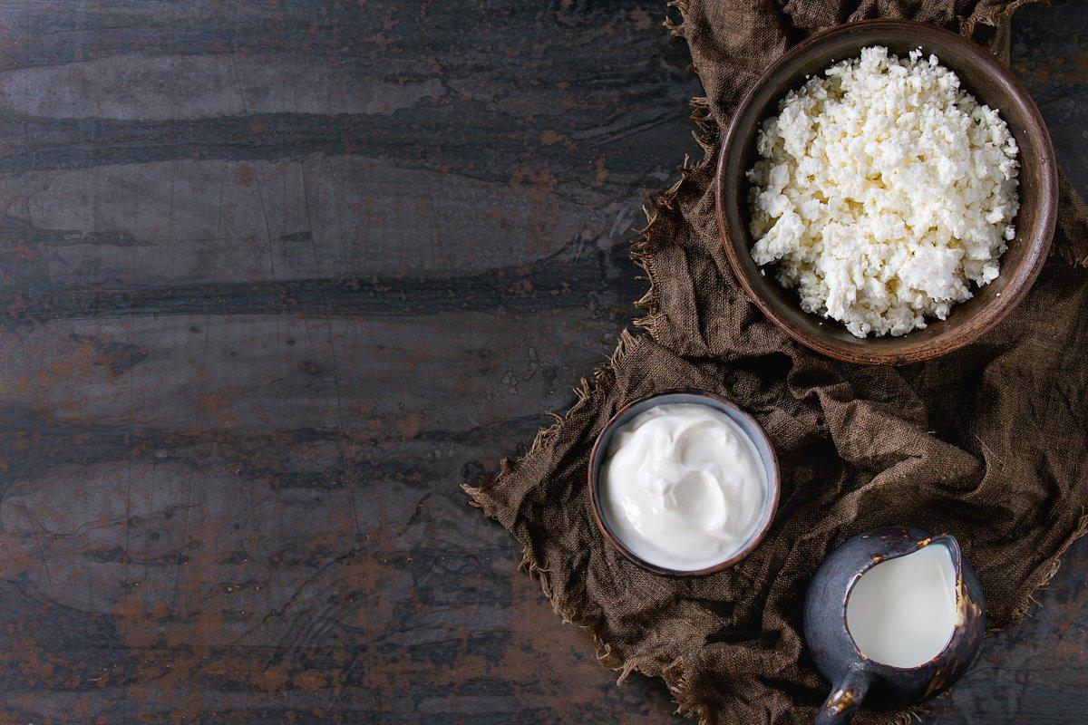 Cottage cheese with yogurt example image 1