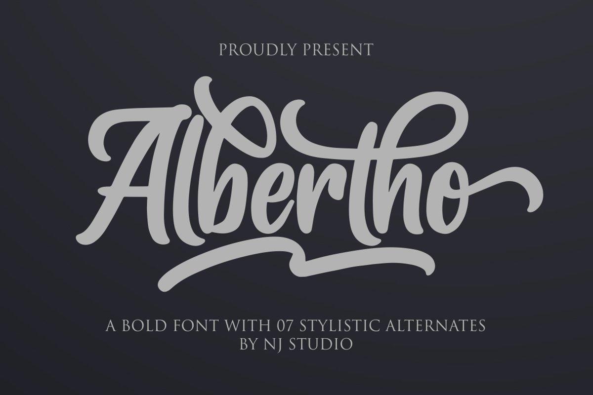 Albertho example image 1