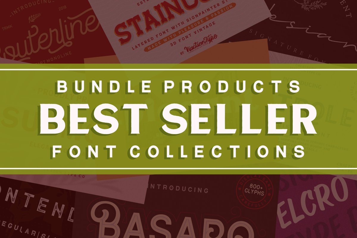 Best Seller - Font Collections example image 1