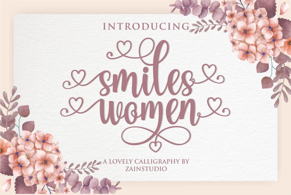 Smiles Women example image 1