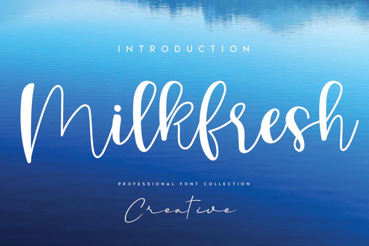 Milkfresh example image 1