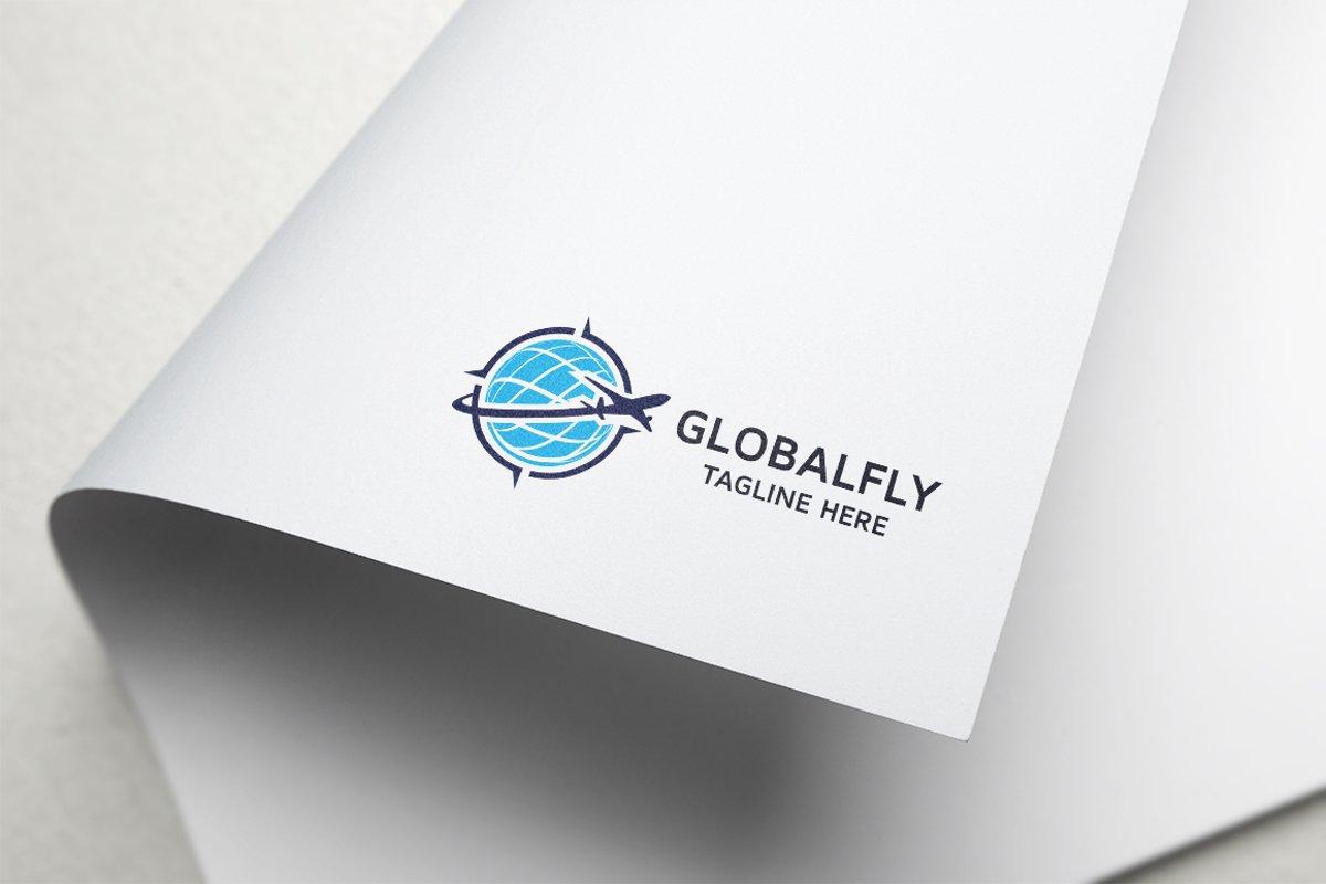 Global Fly Logo example image 1