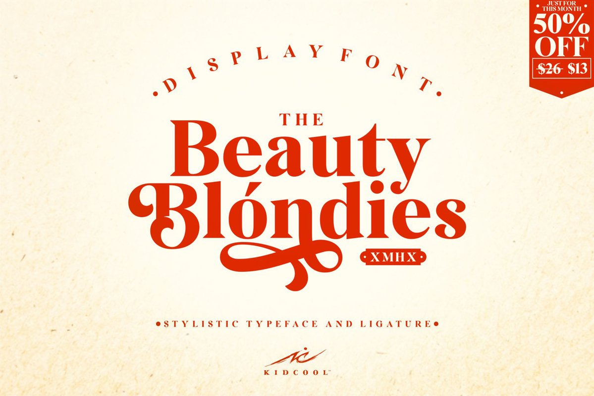 The Beauty blondies example image 1
